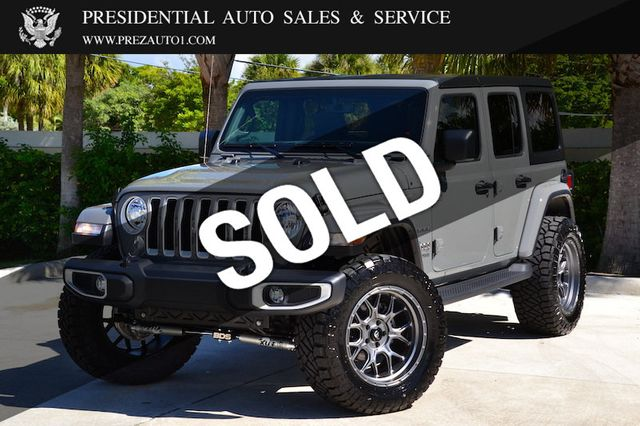 2020 Used Jeep Wrangler Unlimited Unlimited Sahara At Presidential