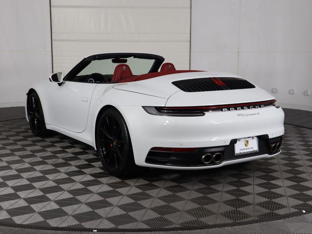 2020 Used Porsche 911 Carrera S Cabriolet At Scottsdale Ferrari Serving Phoenix Az Iid 20122267