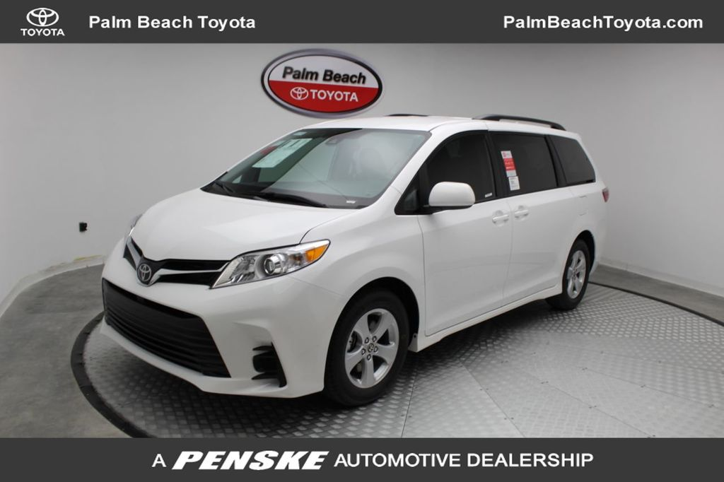 used 2020 toyota sienna le fwd 8 passenger for sale in west palm beach florida ls079965 penskecars com penske automotive group