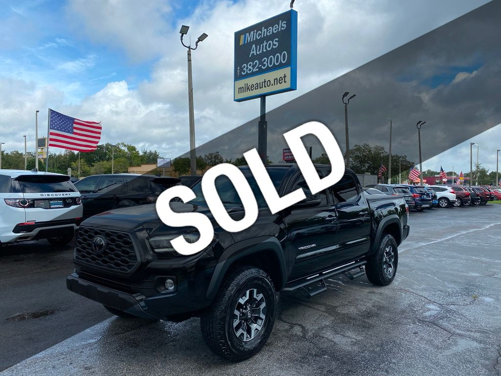 2020 Used Toyota Tacoma 4x4 Trd Off Road Double Cab 5 Bed Only 546 Miles Save At Michaels Autos Serving Orlando Fl Iid 20414292