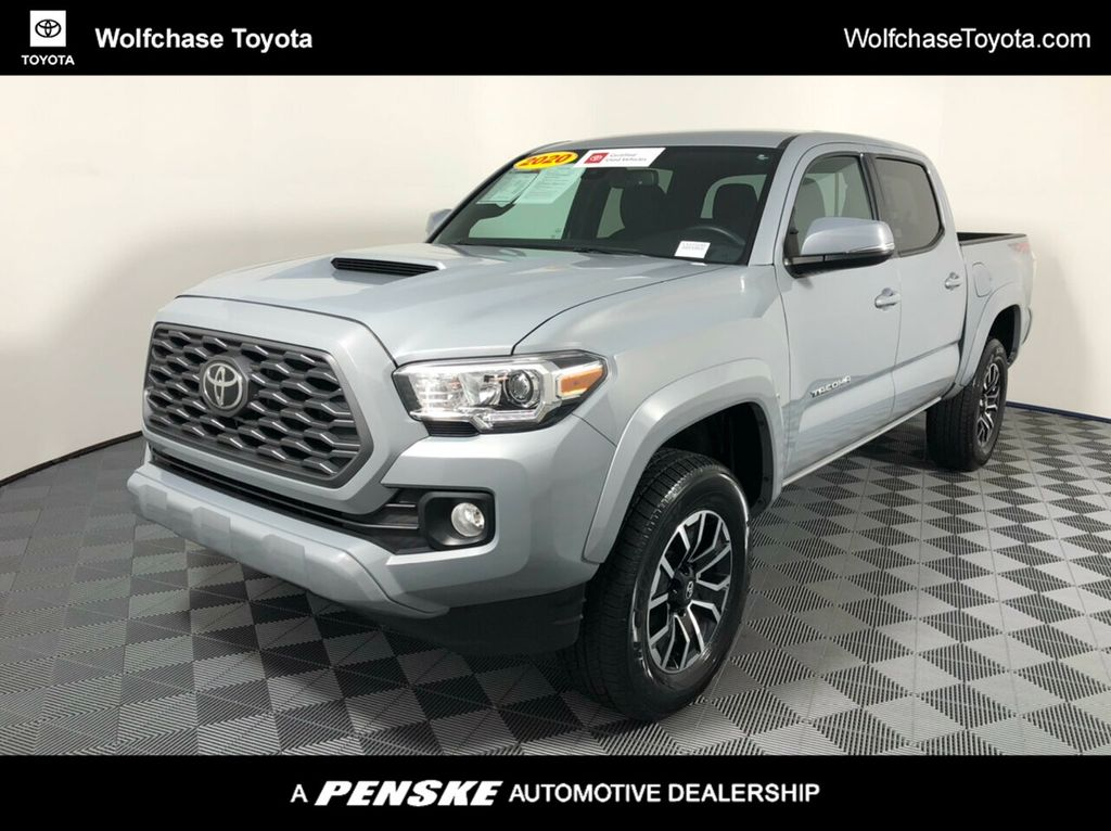 Certified Pre Owned 2020 Toyota Tacoma Trd Sport For Sale In Cordova Tennessee Lx223240 Penskecars Com
