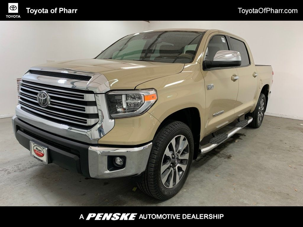 2020 Toyota Tundra 4WD Limited CrewMax 5.5' Bed 5.7L (Natl) - 20707369 - 0