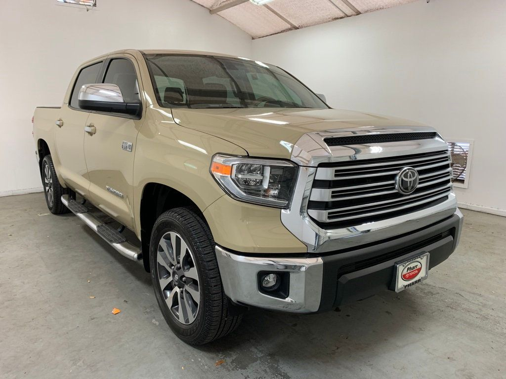 2020 Toyota Tundra 4WD Limited CrewMax 5.5' Bed 5.7L (Natl) - 20707369 - 4