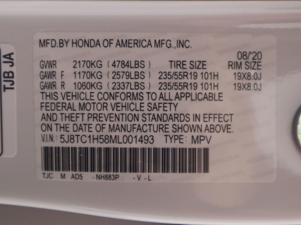 2021 Acura RDX COURTESY VEHICLE  - 20256616 - 33