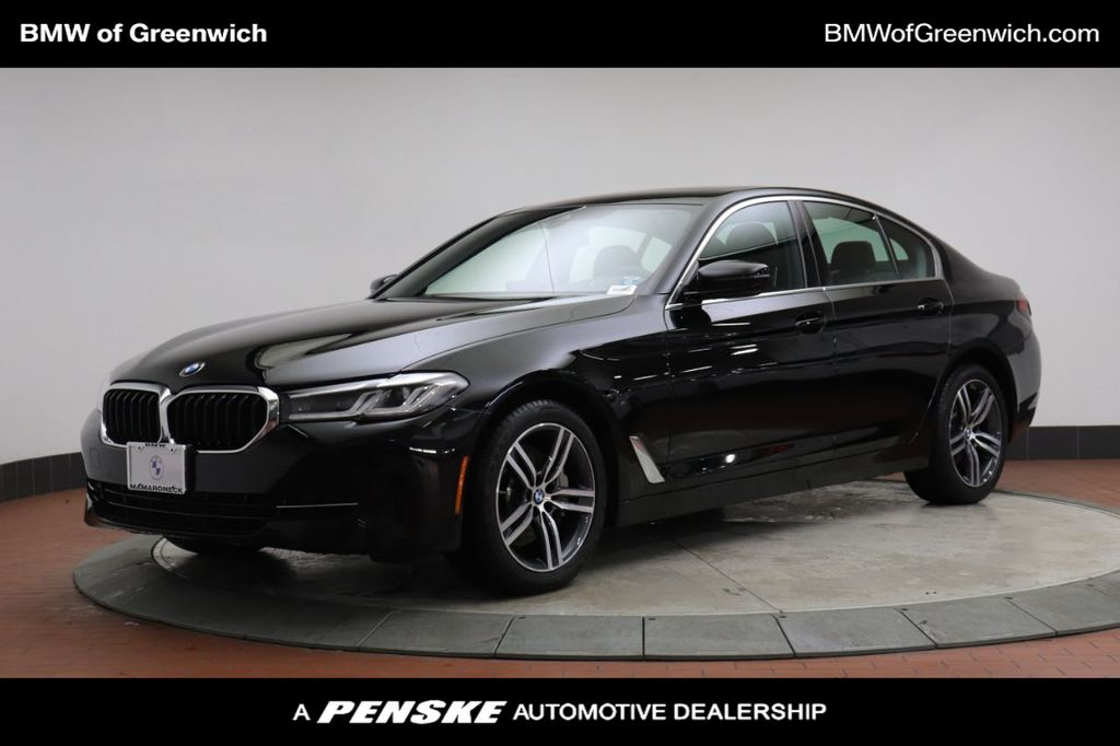 Used 2021 Bmw 5 Series 530i Xdrive For Sale Greenwich Ct Penskecars Com