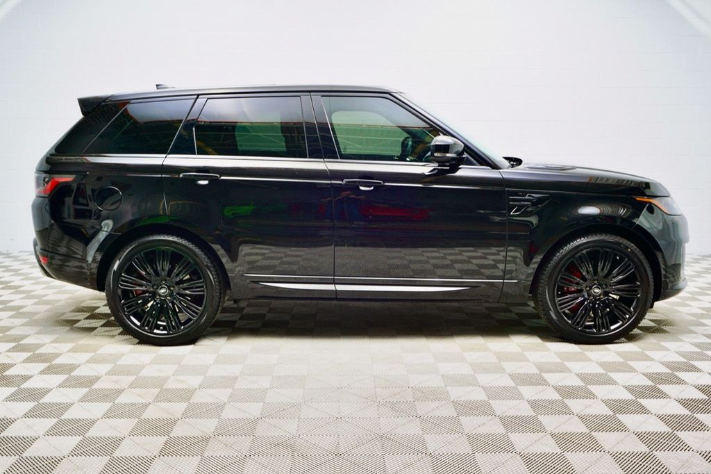 2021 Used Land Rover Range Rover Sport Hse Dynamic Only 561 Miles Awd Premium Black Pack Option At Kip Sheward Motorsports Serving Novi Mi Iid 20493196